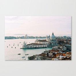 December Sunset, Venice Canvas Print