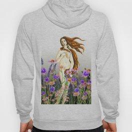 Venus and flower Hoody