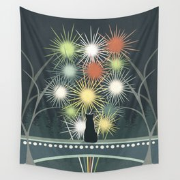 Fireworks Wall Tapestry
