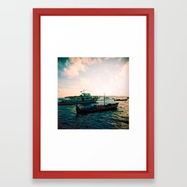 Maldives 02 02 Framed Art Print