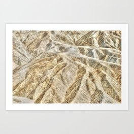 Death Valley desert Art Print