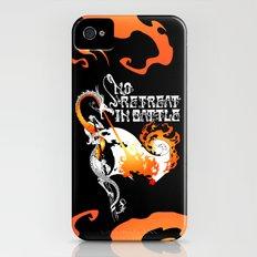 No Retreat in Battle Slim Case iPhone (4, 4s)