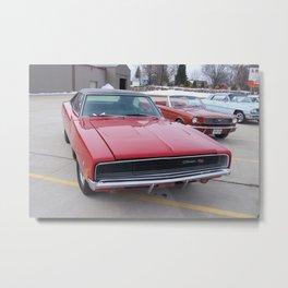 Vintage 1968 Torred MOPAR 426 Hemi Charger Muscle Car Color photography / photographs Metal Print