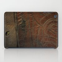 leather iPad Cases featuring Aged Leather by Dorothy Pinder