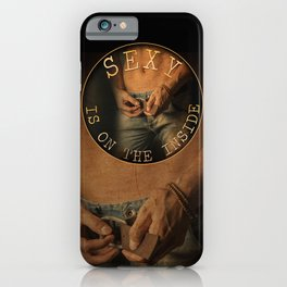 Get Your Sexy On - by JA Huss iPhone Case