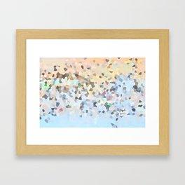 Carousel in Dissolve Framed Art Print