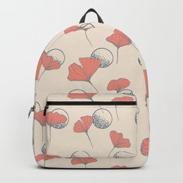 Delicate Ginkgo&Dots #society6 #decor #buyart Backpack