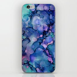 Abstract Alcohol Ink Painting 2 iPhone Skin
