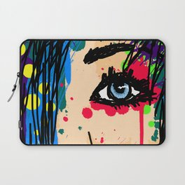 FacePaint Laptop Sleeve