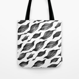black leaves Tote Bag