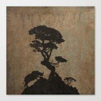 safari Canvas Prints featuring Safari by Last Call