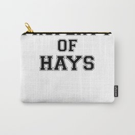 Property of HAYS Carry-All Pouch