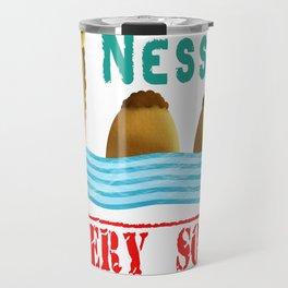 Nessie was a camel or so Travel Mug