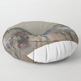 The Pont Neuf  Floor Pillow
