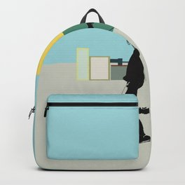 Spring in the city Backpack