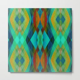 Abstract Modern Background G160 Metal Print