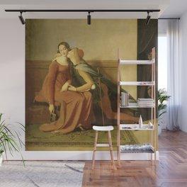 """Jean-Auguste-Dominique Ingres """"Francesca and Paolo (Francesca da Rimini and Paolo Malatesta)"""" 2. Wall Mural"""