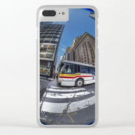 The Transporter Clear iPhone Case