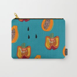 DINNER IN SPAIN BLUE Carry-All Pouch