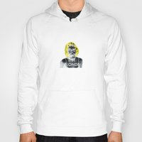 blondie Hoodies featuring Blondie by Justin Catron