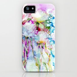 infinite love for the flowers iPhone Case