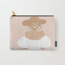 Peachy Summer Dress Carry-All Pouch
