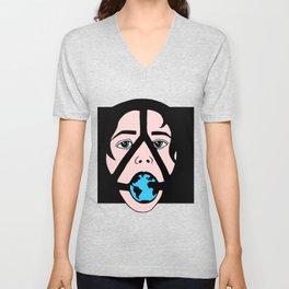 Globe Throater Unisex V-Neck