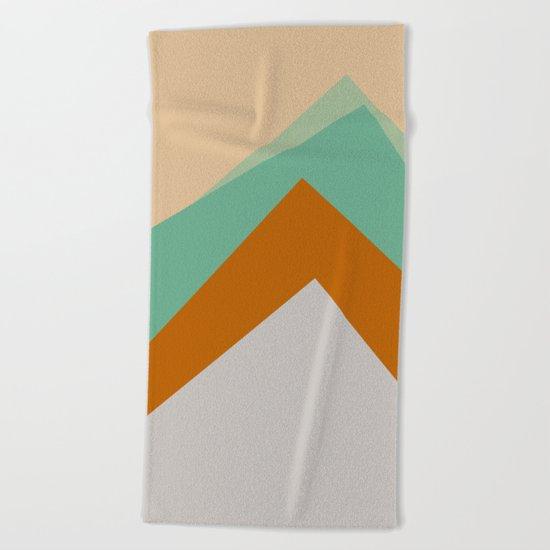 The Nordic Way VI Beach Towel