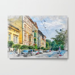 Cracow art 16 #cracow #krakow #city Metal Print