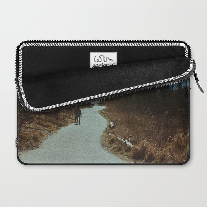 Path up the Great Smoky Mountains Laptop Sleeve