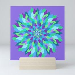 Abundant Petals Mandala Mini Art Print