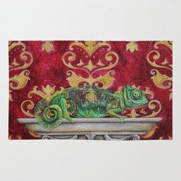 Victorian Chameleon Rug