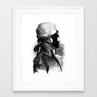 bdsm Framed Art Prints featuring BDSM XXXI by DIVIDUS