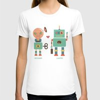 lawyer T-shirts featuring Robotic Love by akaink