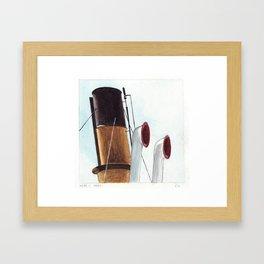 Toot Framed Art Print
