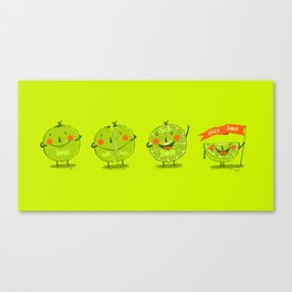 Lime emotions  Canvas Print