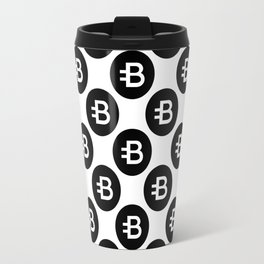 Bytecoin (Bcn) - Crypto Art (Large) Travel Mug