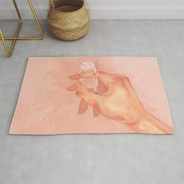 small porky Rug
