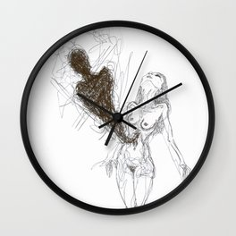 Exorcise Wall Clock