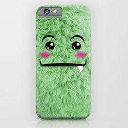 Children imaginary furry friend GREENO (Chibi Palz cute companion) iPhone Case