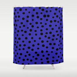 Queen of Polka Dots Shower Curtain