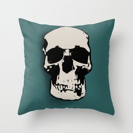 Skull ♥ - SHERLOCK Throw Pillow