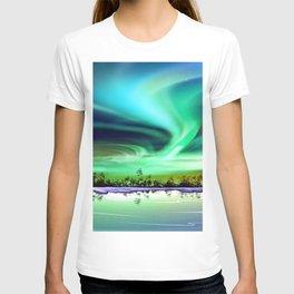 Aurora Borealis 3 T-shirt