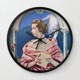 La Dame Au Camelia Wall Clock