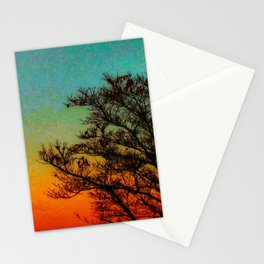Turquoise Sunset Stationery Cards