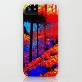 Snow Fire iPhone Case