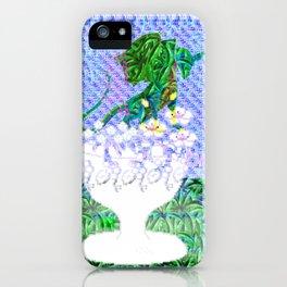 Tropical Dragon Garden  iPhone Case