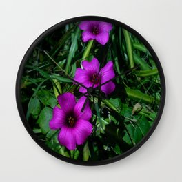 Purple Magic Wall Clock