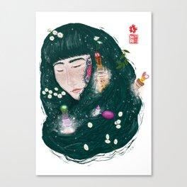 Hair Perfume Canvas Print