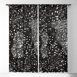 Seamless Pattern with Stars. Cosmic Background Blackout Curtain